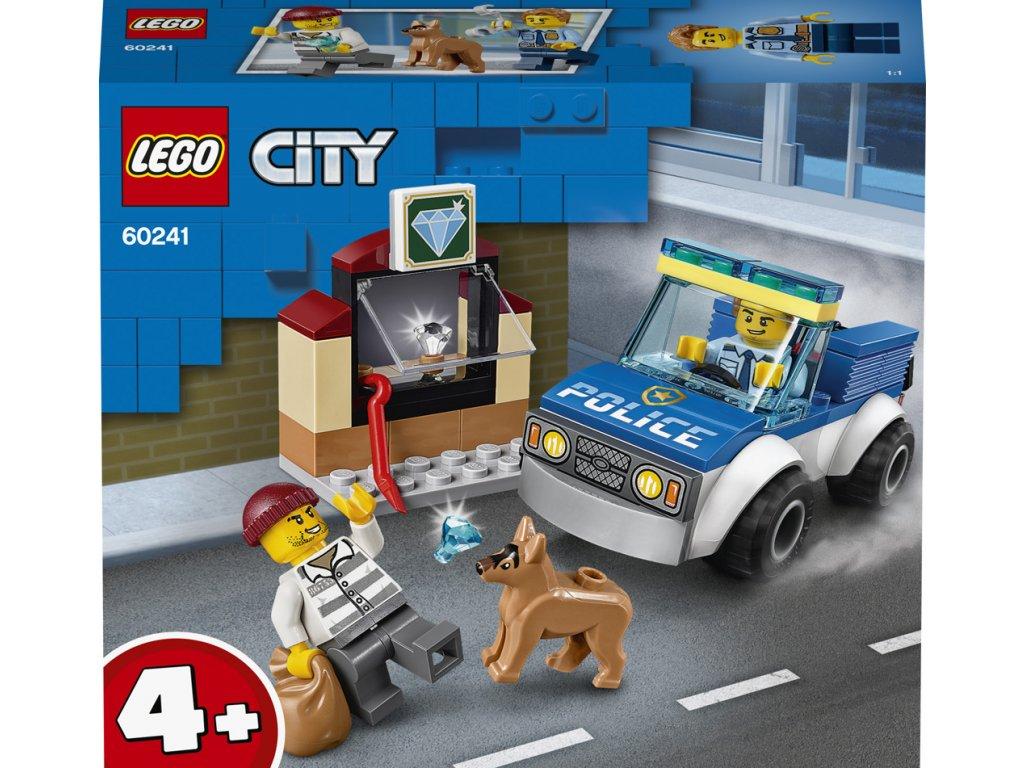 LEGO 60241 City Jednotka s policejním psem