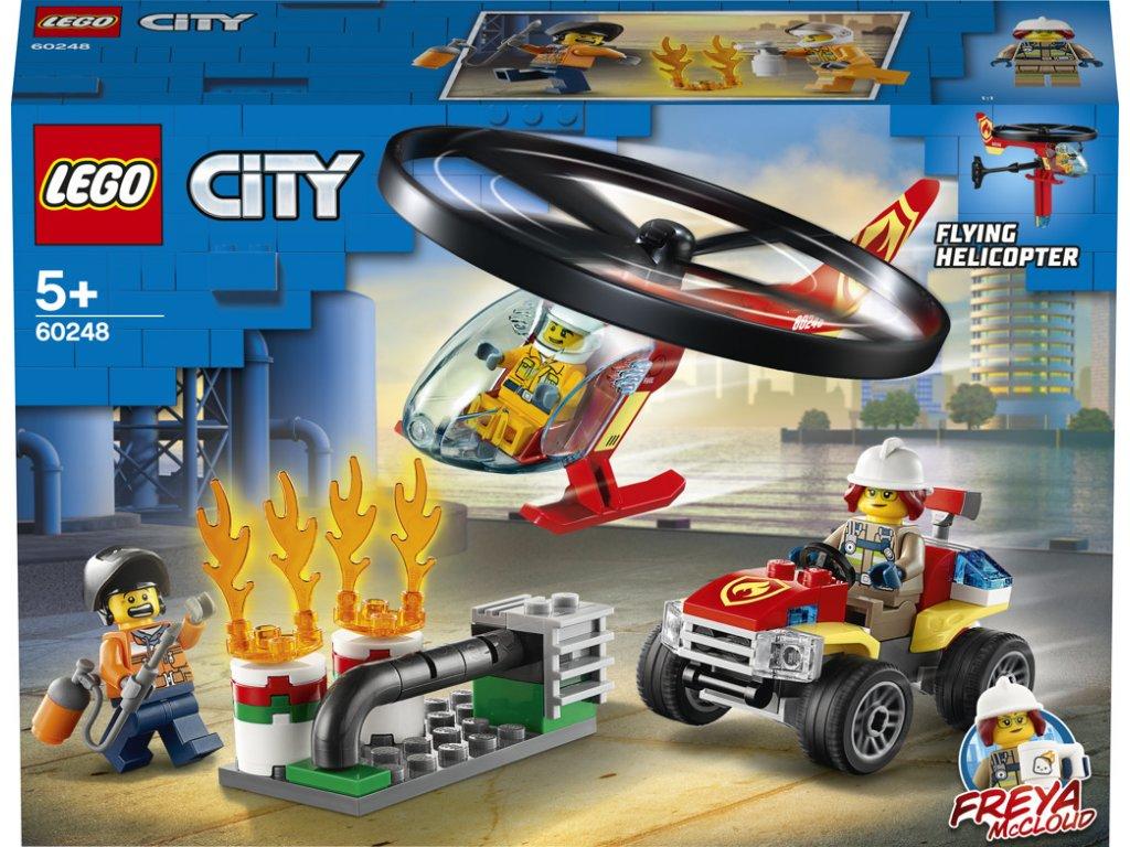 LEGO 60248 City Zásah hasičského vrtulníku