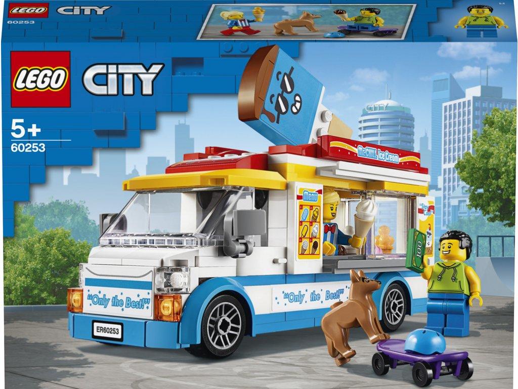 LEGO 60253 City Zmrzlinářské auto