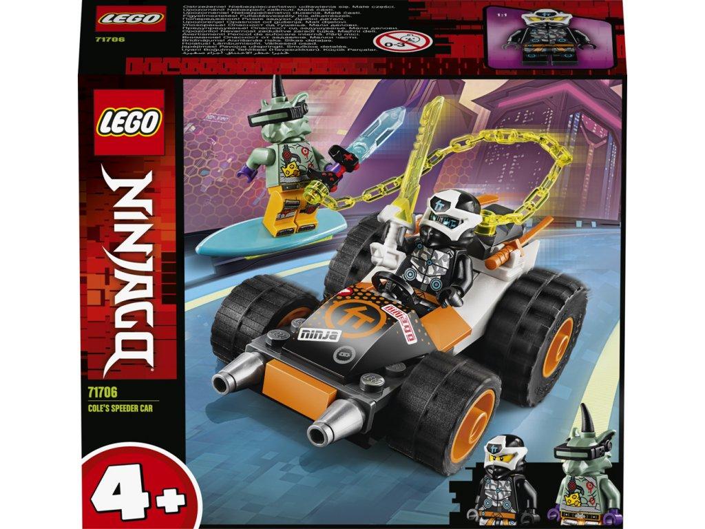 LEGO 71706 Ninjago Coleovo rychlé auto