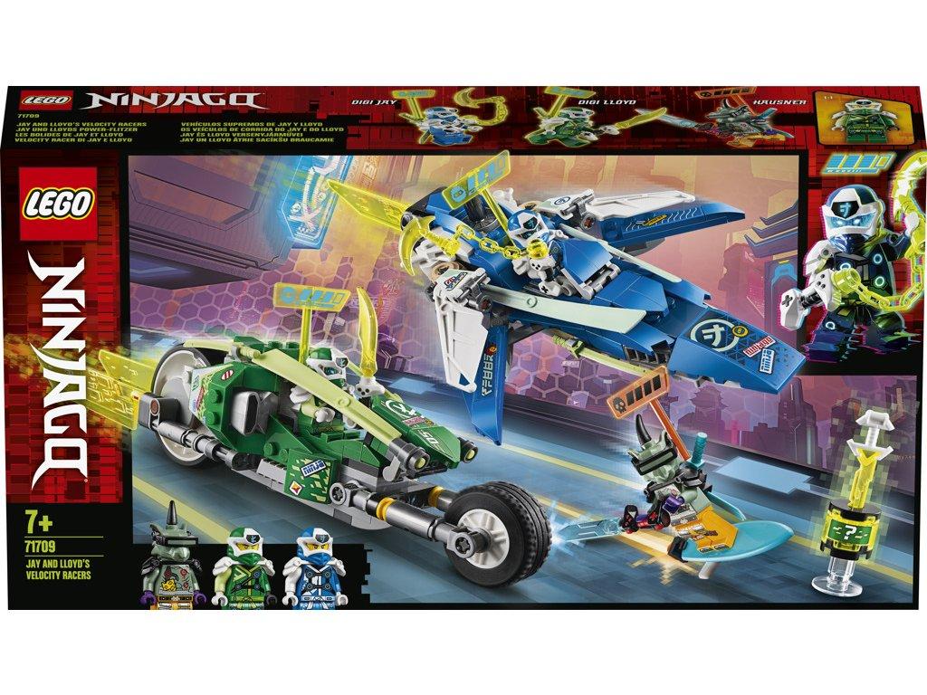 LEGO 71709 Ninjago Rychlá jízda s Jayem a Lloydem