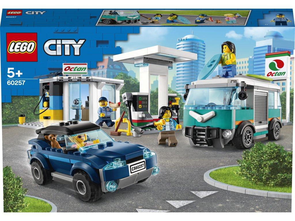 Lego 60257 City Benzínová stanice