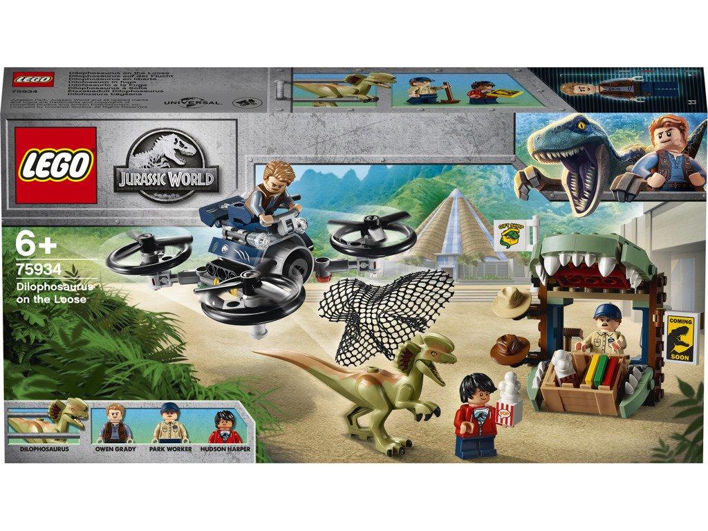 LEGO 75934 Jurassic World Dilophosaurus na útěku