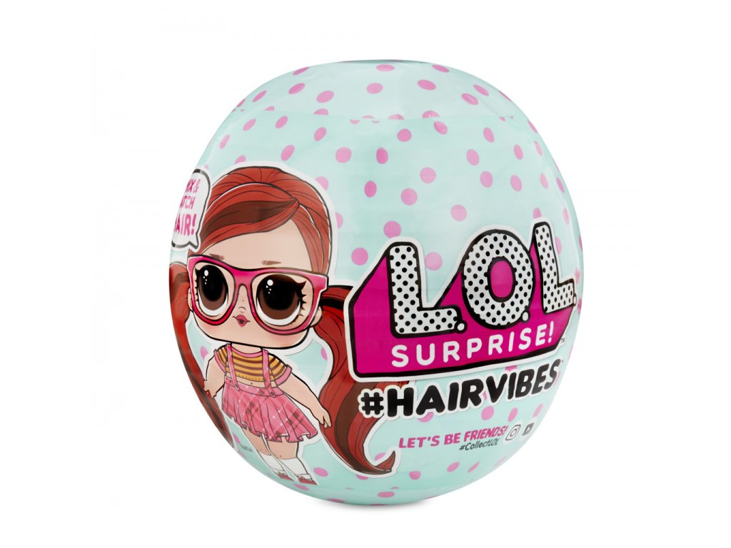 L.O.L. Surprise #Hairvibes Česatice