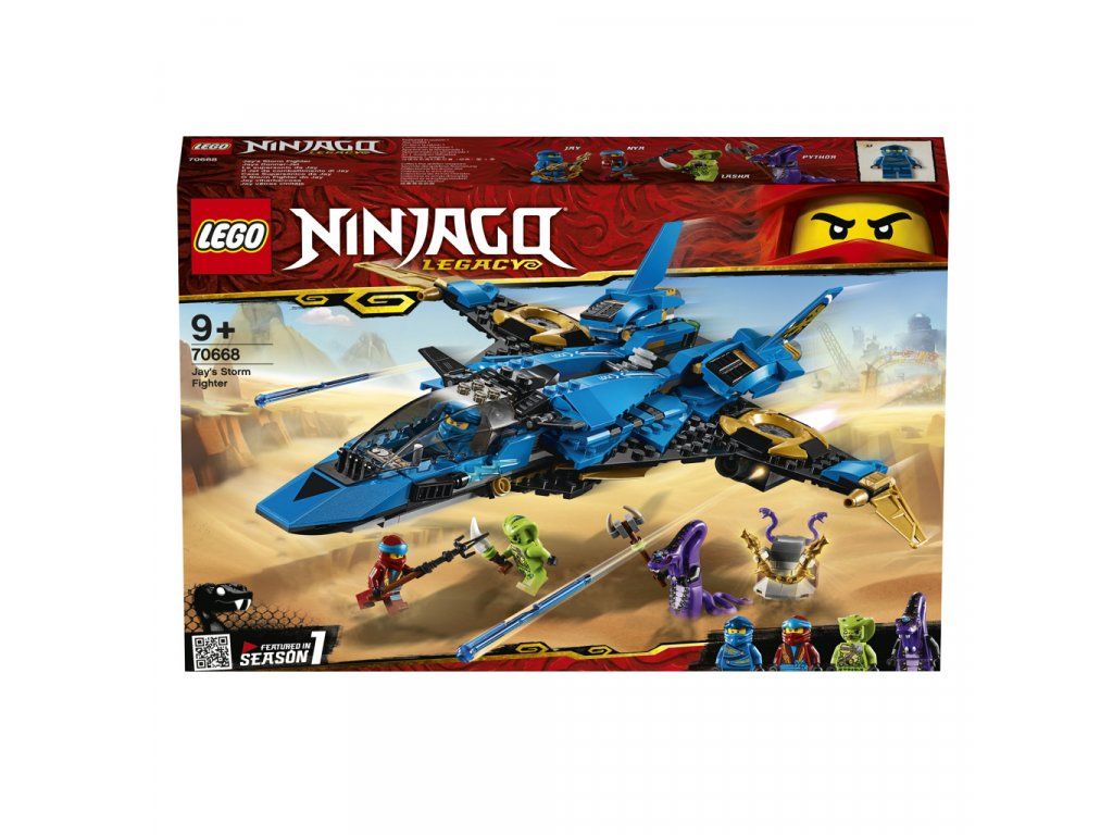 LEGO 70668 Ninjago Jayův bouřkový štít