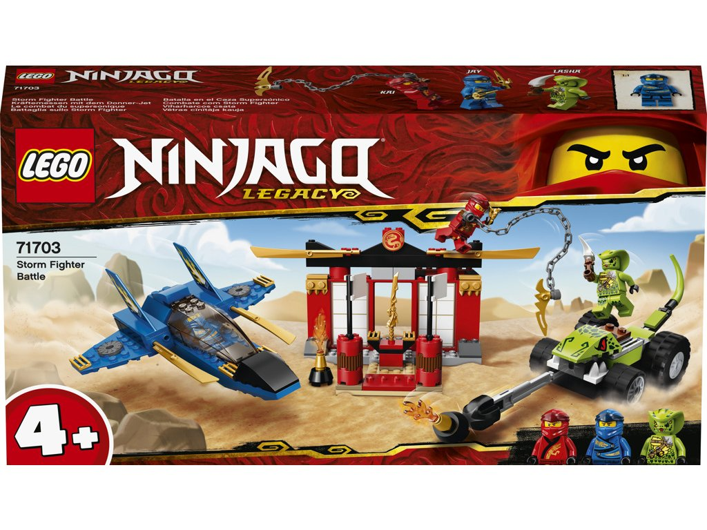 LEGO 71703 Ninjago Bitva s bouřkovým štítem