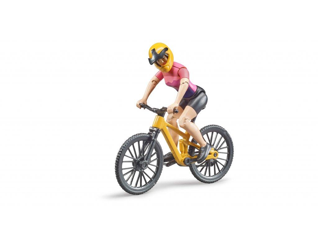 BRUDER  63111 bworld horské kolo s cyklistkou