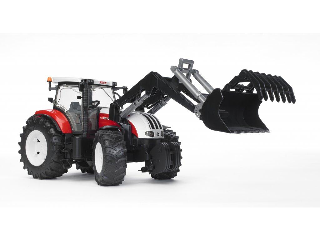 KONEC Traktor STEYR  CVT 6230+čelní nakladač