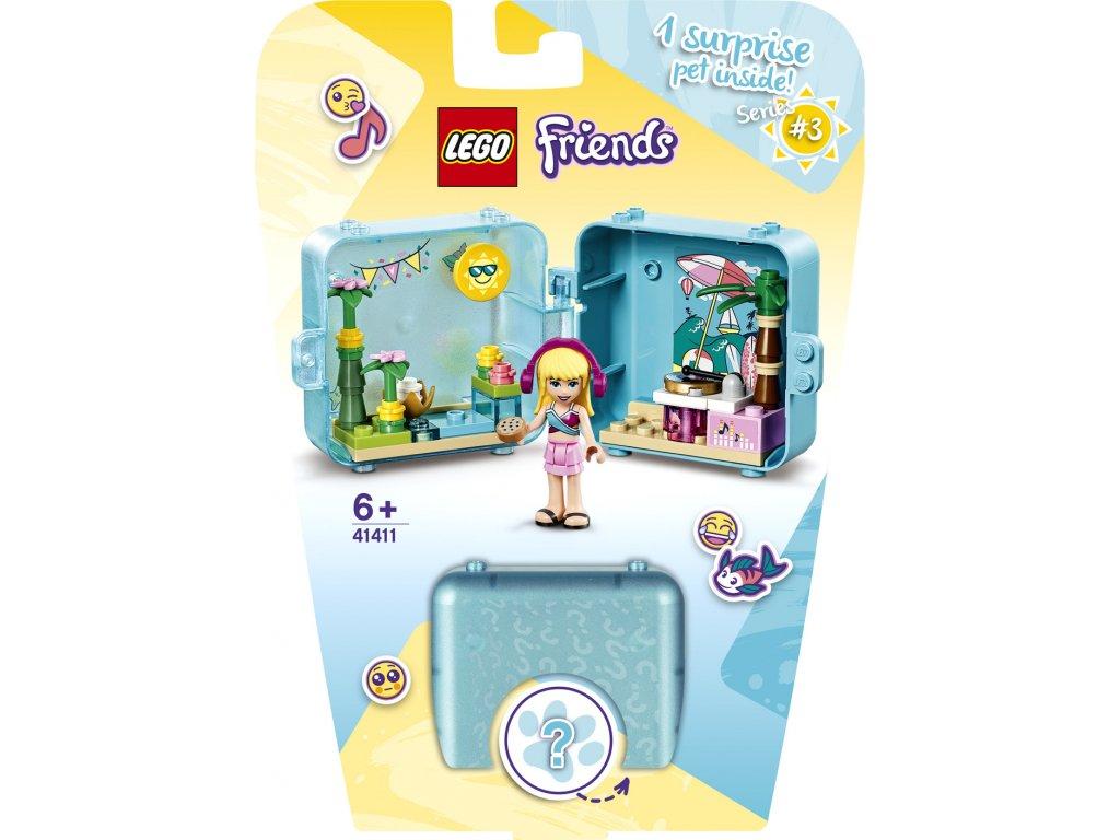 LEGO 41411 Friends Herní boxík: Stephanie a její léto