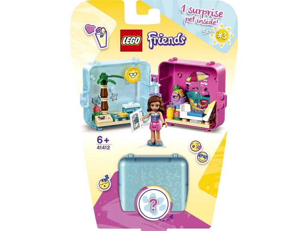 LEGO 41412 Friends Herní boxík: Olivia a její léto