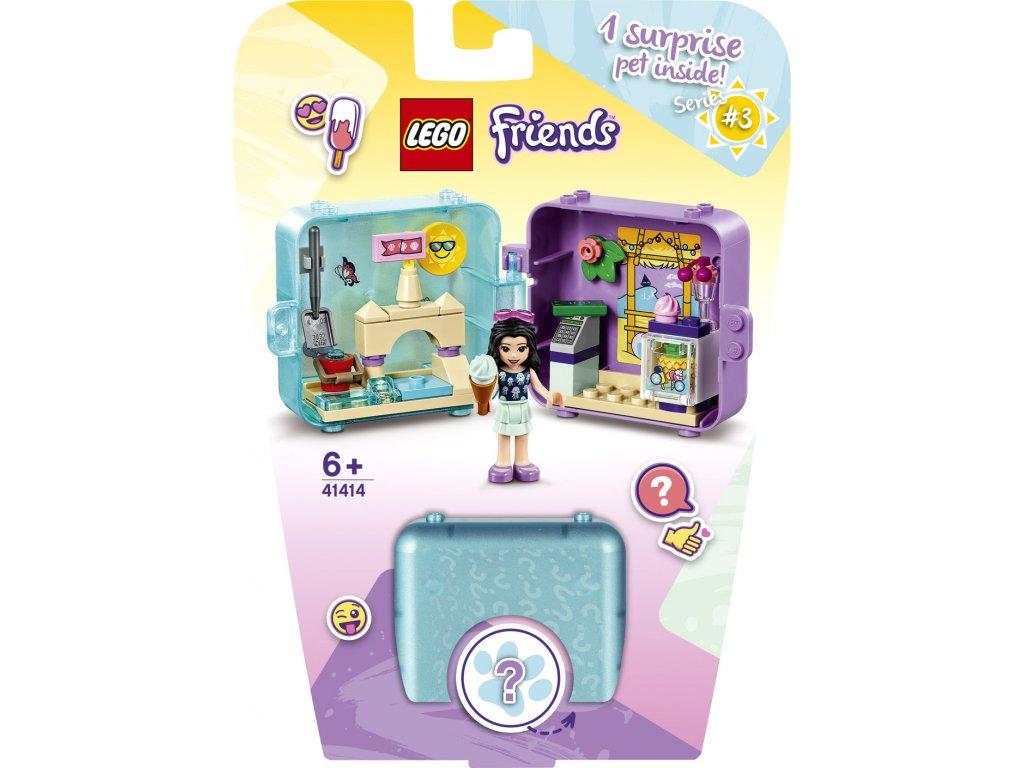 LEGO 41414 Friends Herní boxík: Emma a její léto
