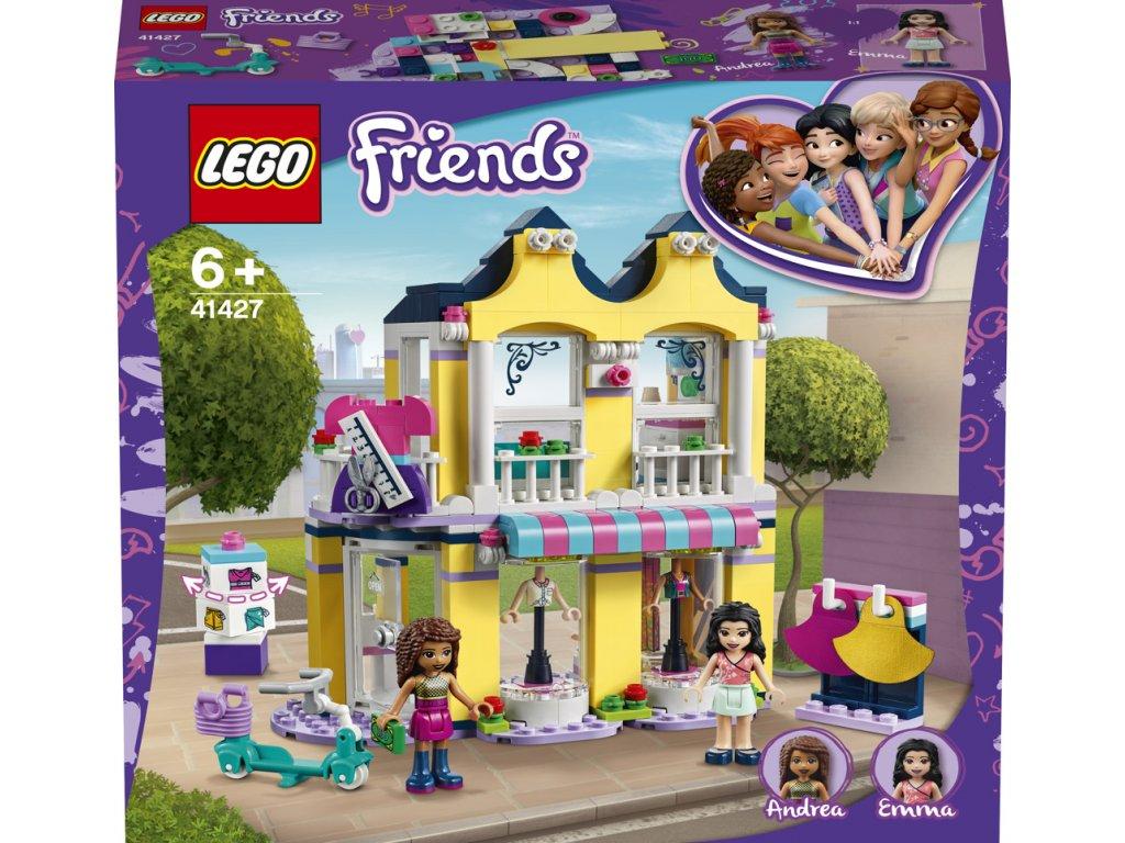 LEGO 41427  Friends Emma a její obchod s oblečením