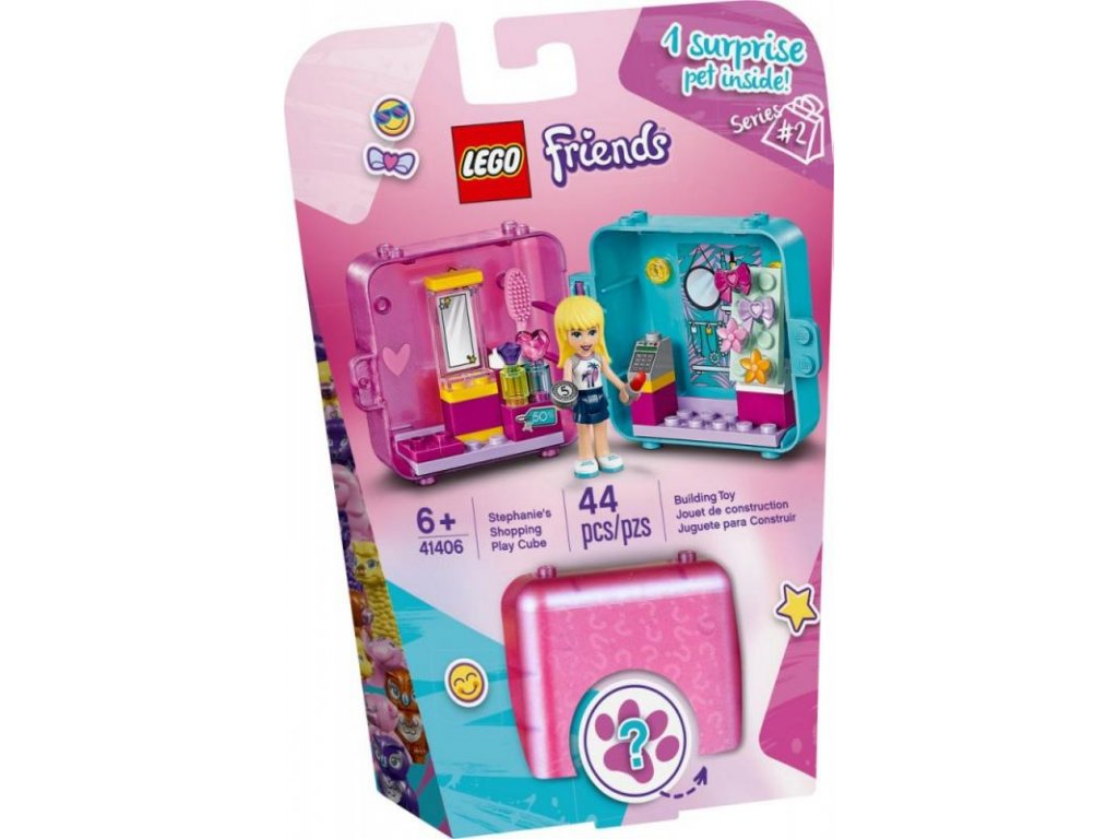 LEGO 41406 Friends herní boxík: Stephanie a móda