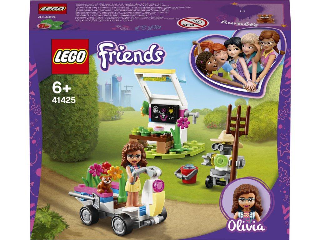 LEGO 41425 Friends Olivie a její květinová zahrada