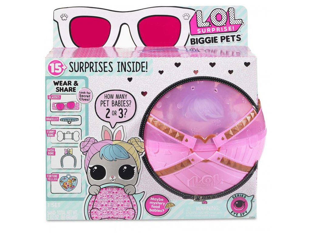 L.O.L. Surprise Biggie Pet Hop Hop