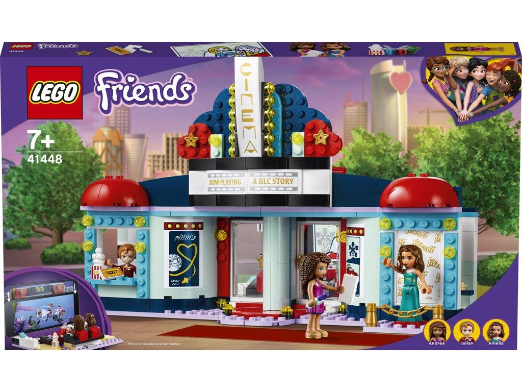 LEGO 41448 Friends Kino v městečku Heartlake
