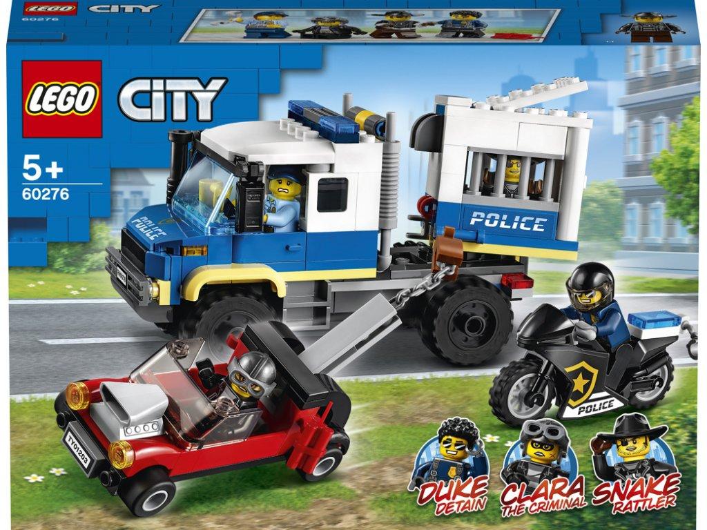 LEGO 60276 City Vězeňský transport