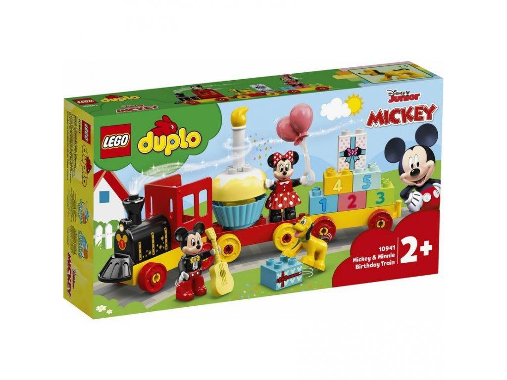 LEGO 10941 Duplo Narozeninový vláček Mickeyho a Minnie