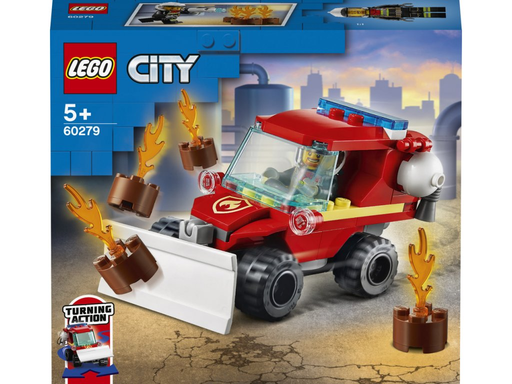 LEGO 60279 City Speciální hasičské auto
