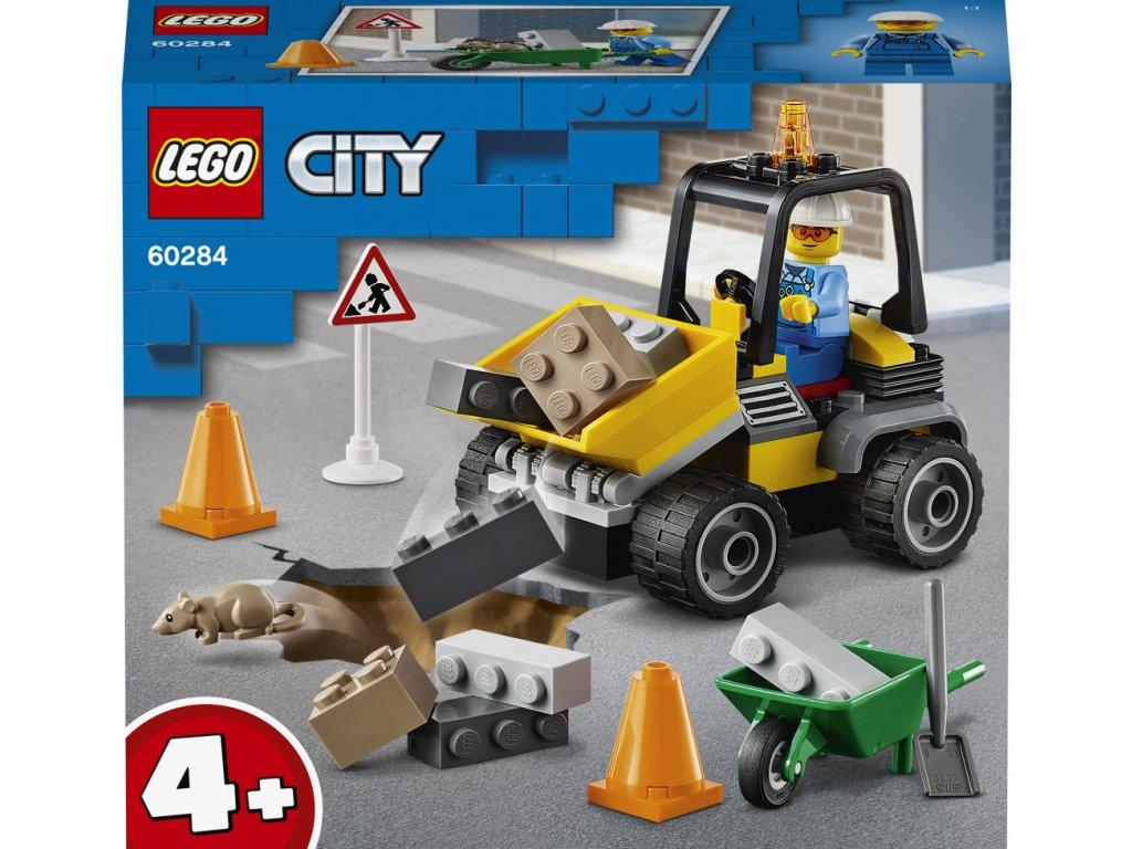 LEGO 60284 City Náklaďák silničářů