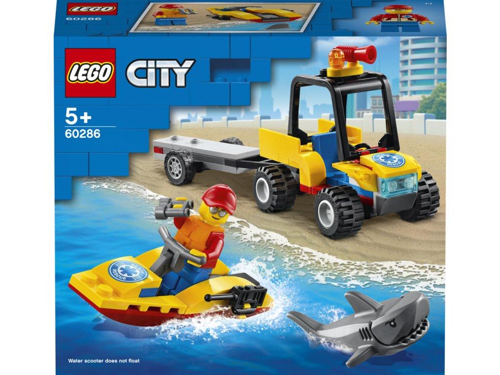 LEGO 60286 City Záchranná plážová čtyřkolka