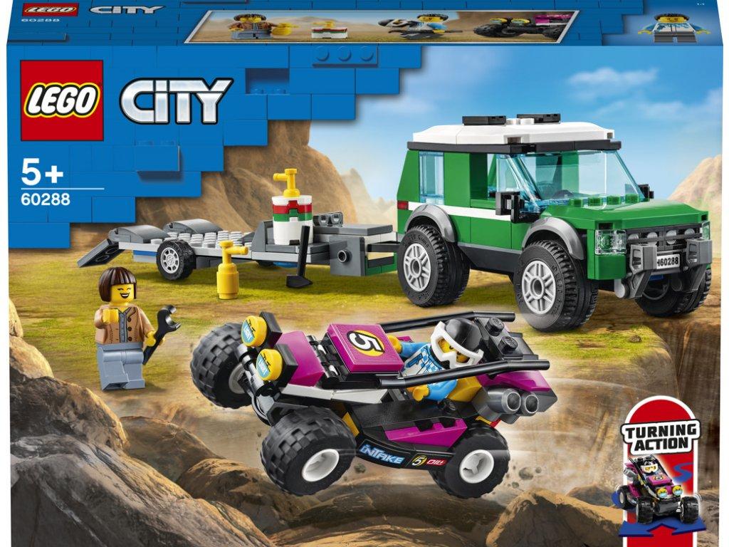 LEGO 60288 City Transport závodní buginy