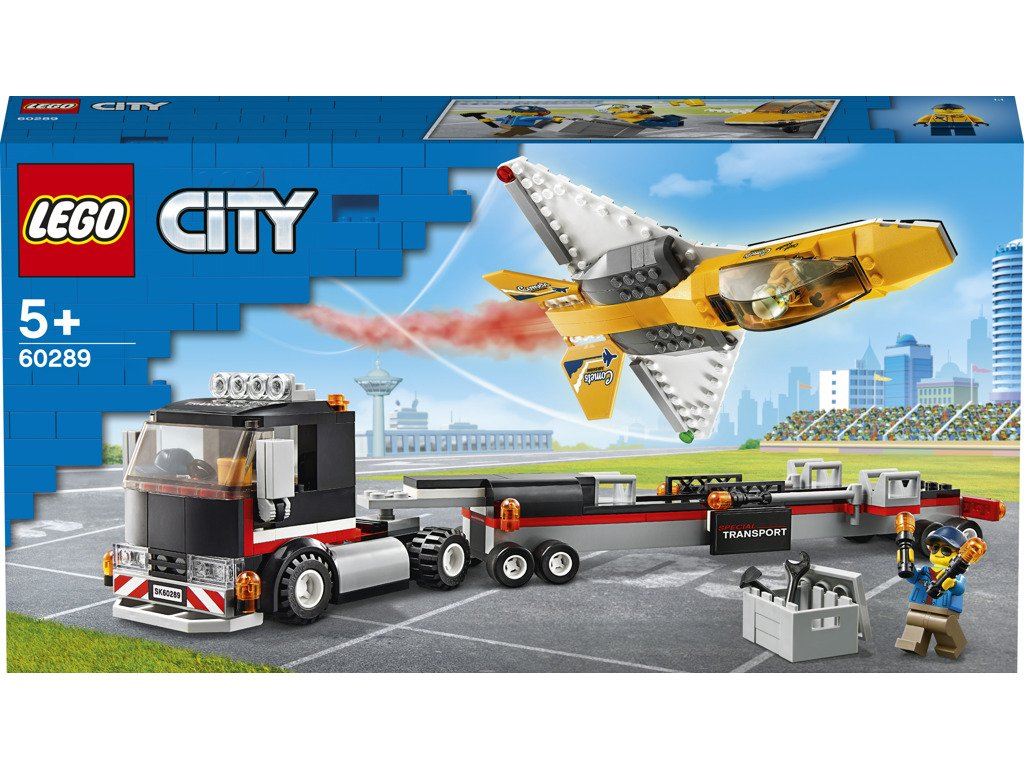 LEGO 60289 City Transport akrobatického letounu