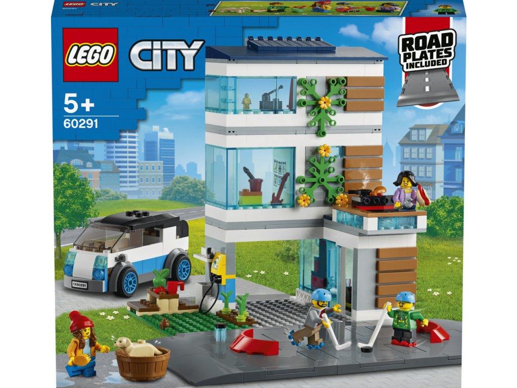 LEGO 60291 City Moderní rodinný dům