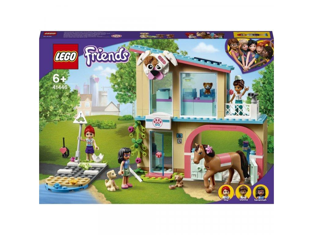 LEGO 41446 Friends Veterinární klinika v městečku
