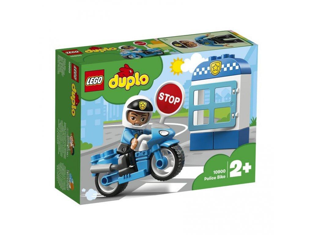 LEGO 10900 Duplo Policejní motorka