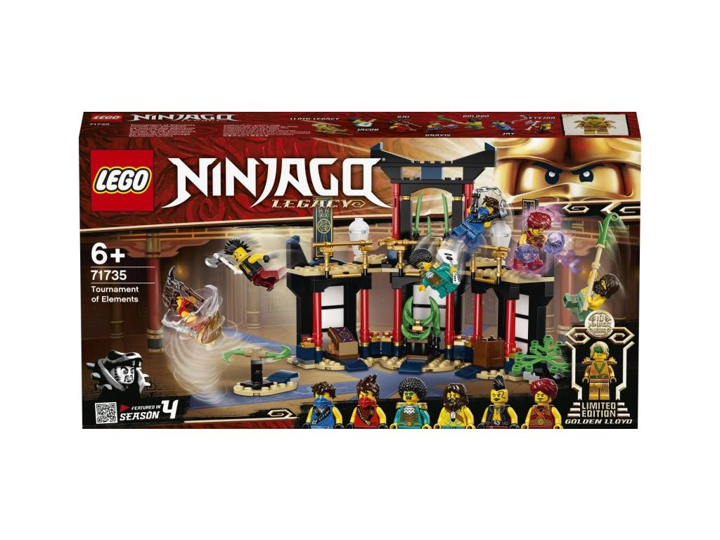 LEGO 71735 Ninjago Turnaj živlů