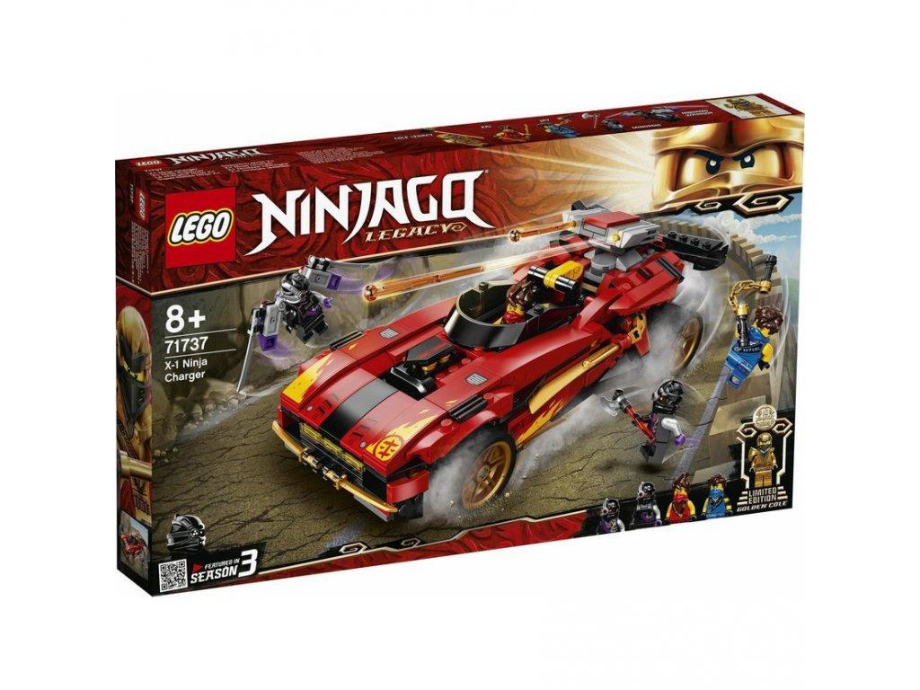 LEGO 71737 Ninjago Kaiův červený bourák