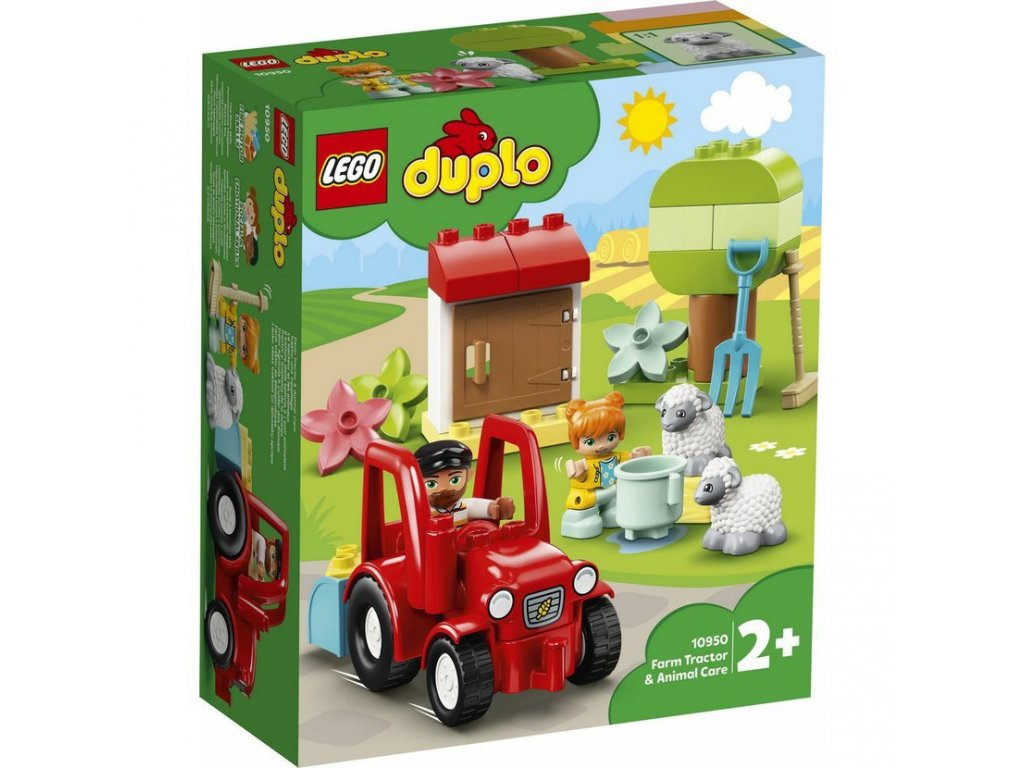 LEGO 10950 DUPLO Traktor a zvířátka z farmy