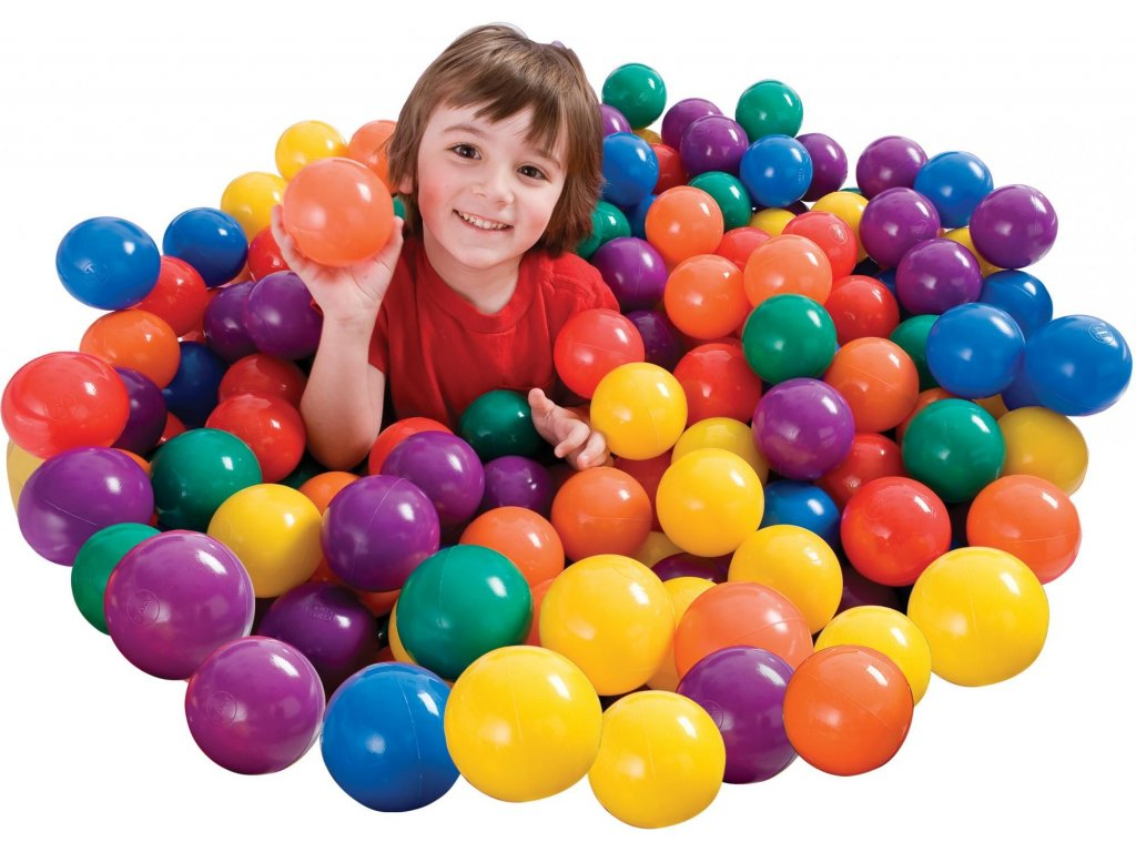 INTEX míčky do bazénu 100ks 6,5cm