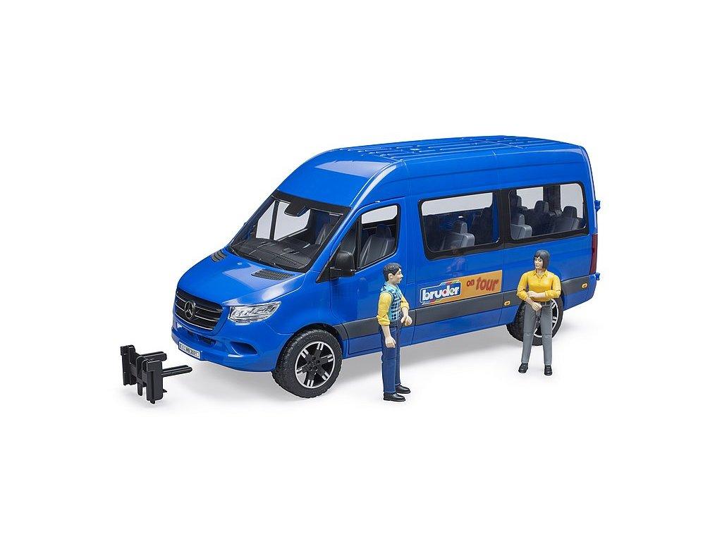 MB Sprinter transfer s řidičem a pasažérem