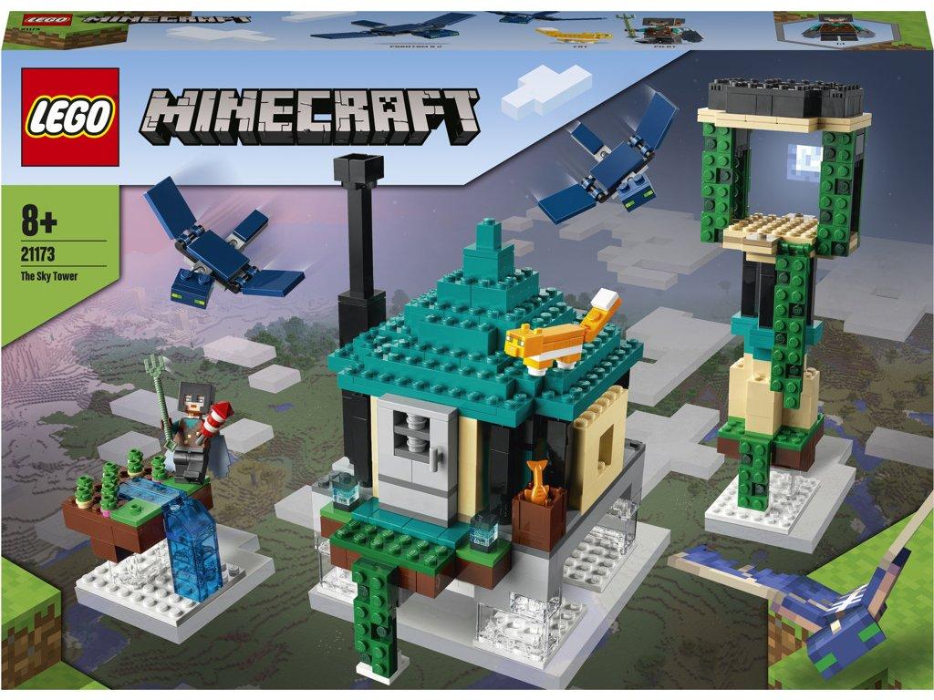LEGO 21173 Minecraft Věž v oblacích