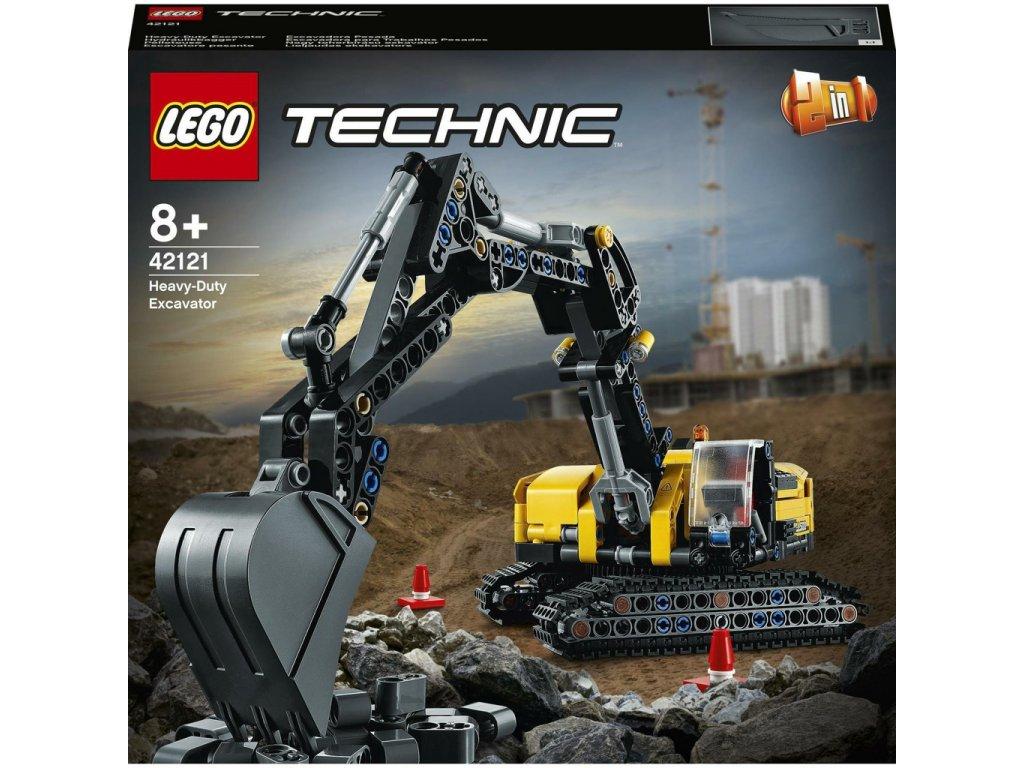 LEGO 42121 Technic těžkotonážní bagr
