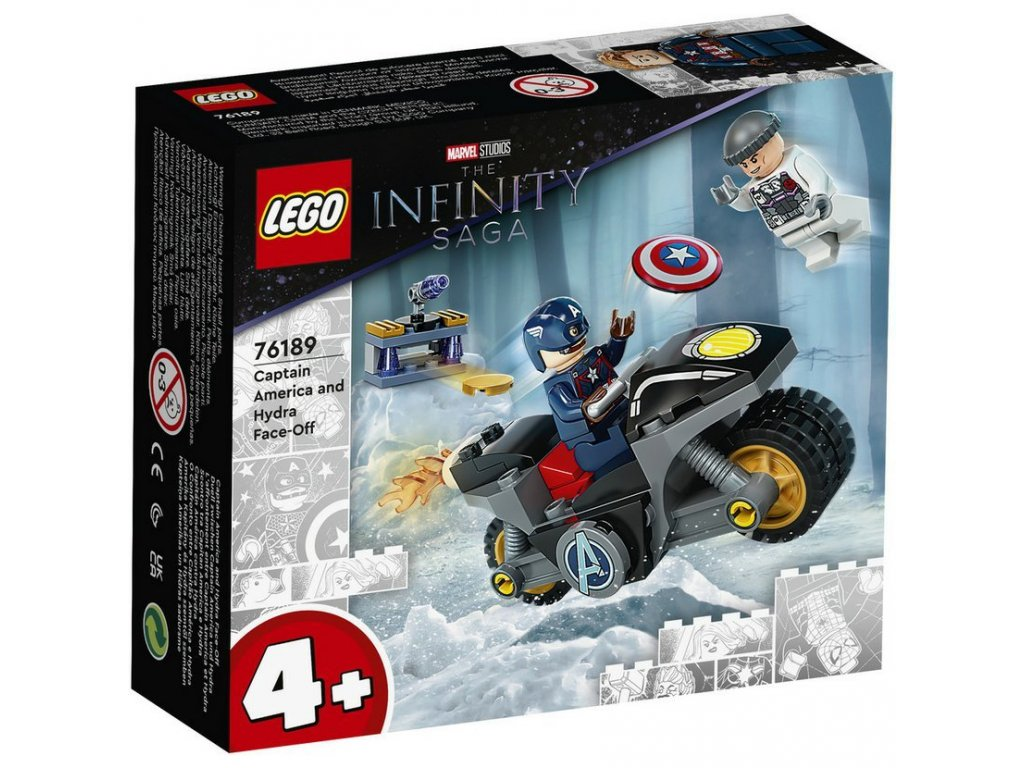LEGO 76189 Super Heroes Captain America vs. Hydra