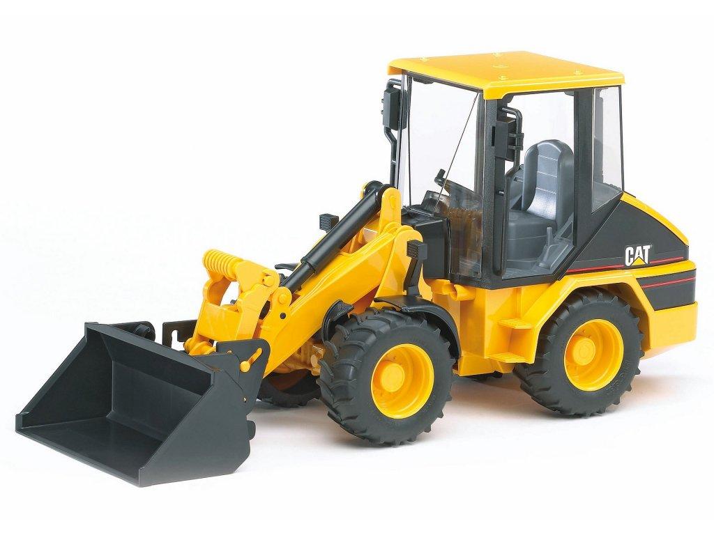 BRUDER 2441 Žlutý NAKLADAČ CAT čelní