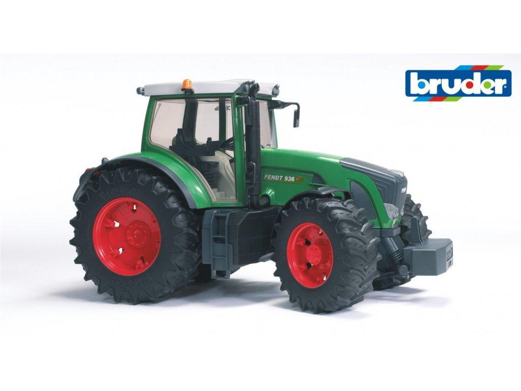 BRUDER 3040 Zelený TRAKTOR FENDT 936 VARIO