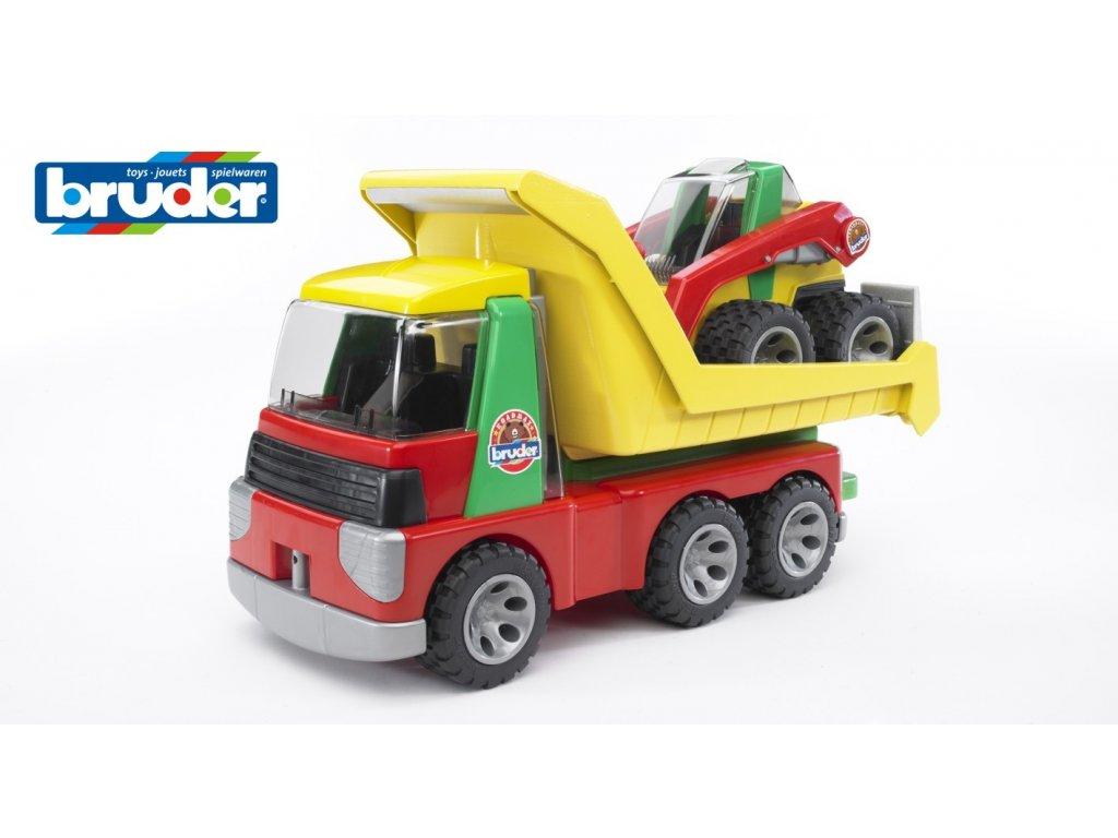 BRUDER 20070 Roadmax-AUTO nákladní s nakladačem