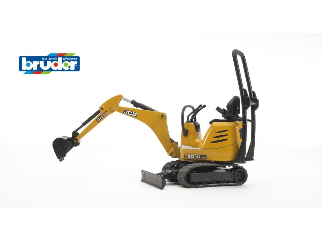 BRUDER 62003 Žlutý mikro BAGR JCB 8010 CTS