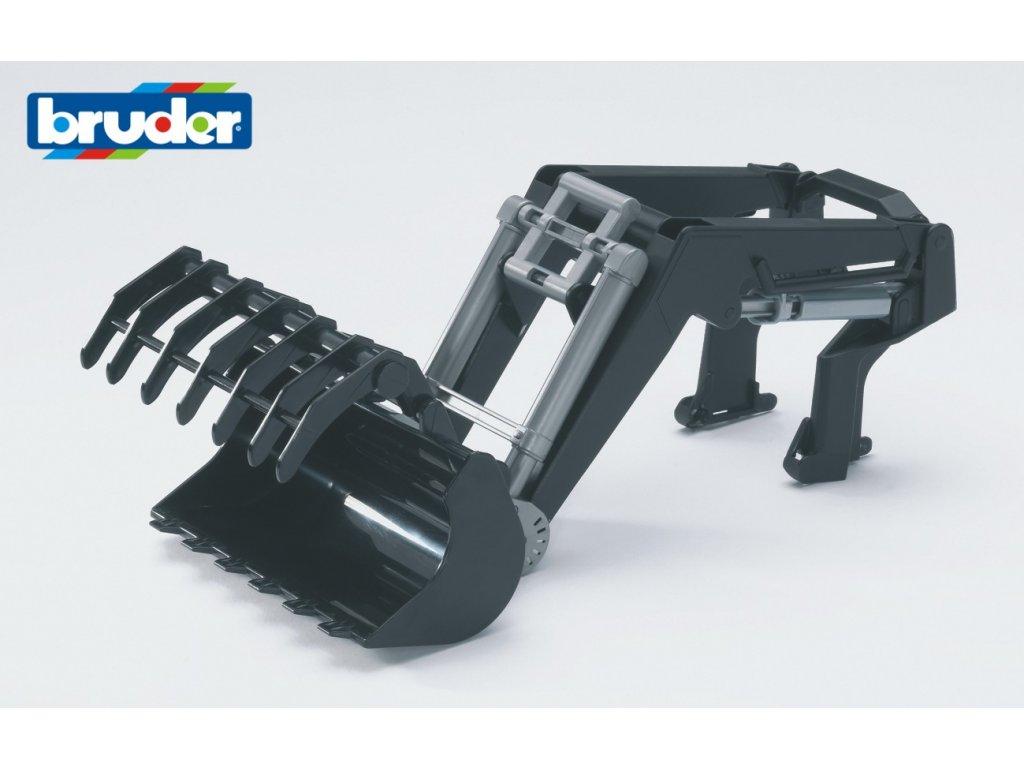 BRUDER 3333 Čelní nakladač pro traktory řady 03..