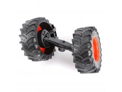 Náhradní díl pro Bruder BR 03015 - Přední náprava pro traktor Claas Xerion BR 03015
