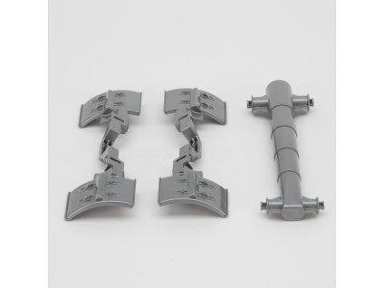 Náhradní díl pro Bruder BR 02212 - stříbrné díly pro valník Joskin