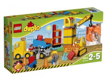 LEGO 10813 DUPLO Velké staveniště