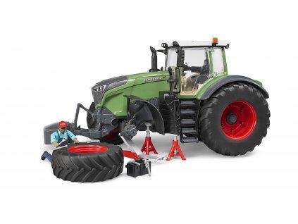 BRUDER 4041 Traktor FENDT 1050 Vario s mechanikem a nářadím