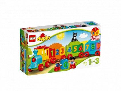 LEGO 10847 DUPLO Vláček s čísly