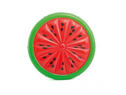 Intex nafukovací matrace kulatá vodní meloun 183cm