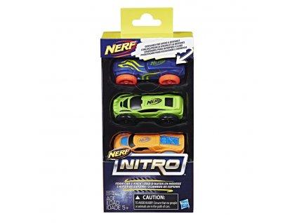 Nerf Nitro náhr.nitro 3ks auta